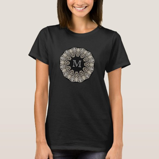 Custom Monogram - Diamonte - T-Shirt