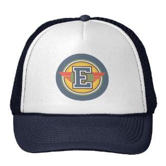 """Custom Monogram """"E"""" Initial Cap"""