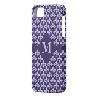 Custom Monogram Fleur-De-Lis iPhone 5 Case-Mate