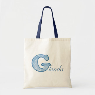 Custom Monogram G Name tote bag