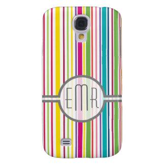 Custom Monogram Galaxy S4 Case