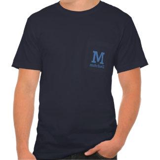 Custom Monogram & Name shirts & jackets