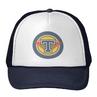 """Custom Monogram """"T"""" Initial Cap"""
