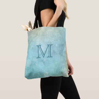 Custom monogram Watercolor Splash bags