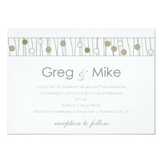 Custom_Monogram Wedding Invitation