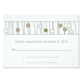Custom_Monogram Wedding RSVP Card