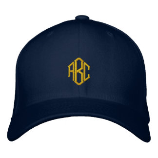 Custom Monogrammed Hat Embroidered Hats