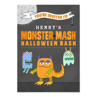 Custom Monster Mash Halloween Bash Invitations