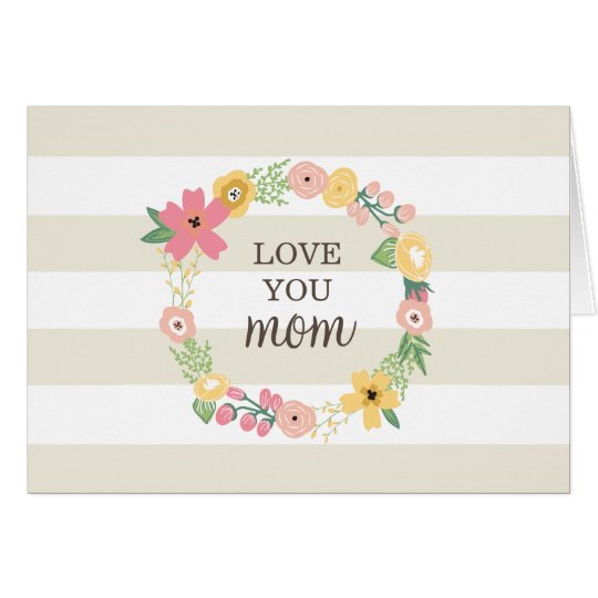 """Custom Mother's Day """"Coupon Gift"""" Greeting Card"""