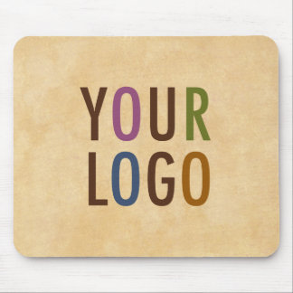 Custom Mousepad with Logo Antique Vintage Style