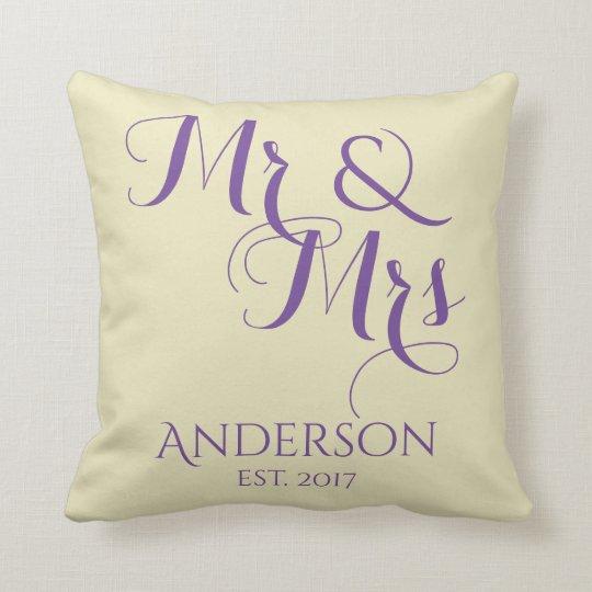 Custom Mr And Mrs Wedding or Anniversary Gift