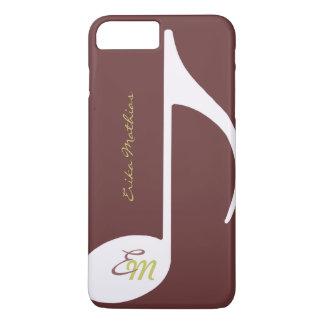 custom musical note iPhone 7 plus case