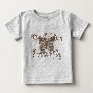 Custom My Golden  Butterfly Light Baby T-Shirt