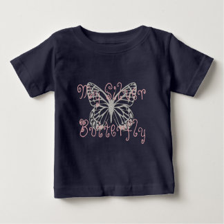 Custom My Silver Butterfly Dark T-shirt