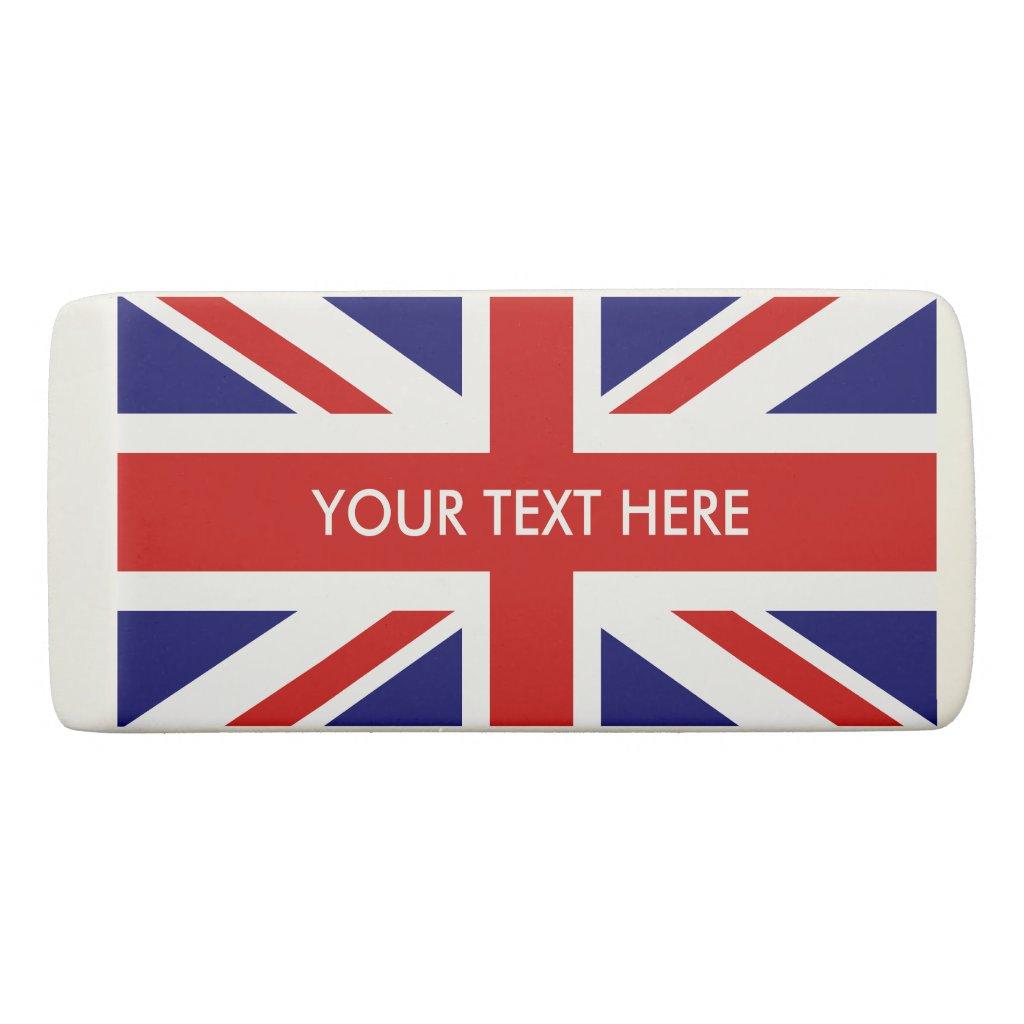 Union Jack Eraser