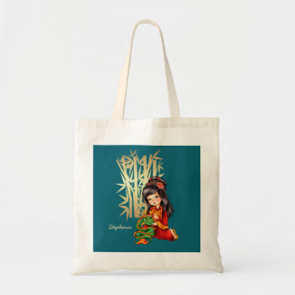 Custom Name Chinese New Year Fun Gift Tote Bag