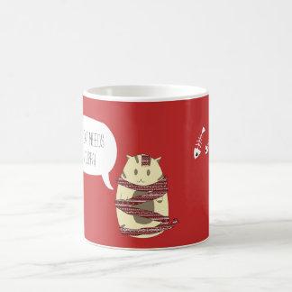 Custom Name Christmas Cat Mug