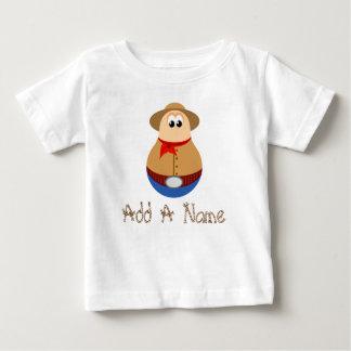 Custom Name Cowboy Cartoon T-shirt