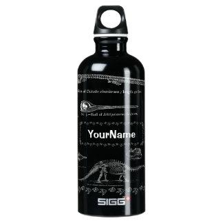 Custom Name Dinosaur Fossil SIGG Bottle 0.6 & 1.0 SIGG Traveller 0.6L Water Bottle