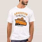 Custom Name Family Cruise Vacation T-Shirt