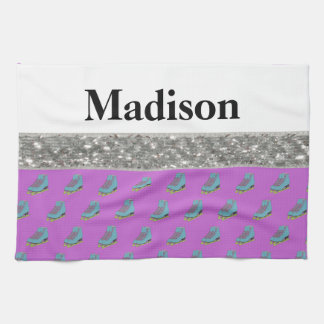 Custom Name Figure Skating Wipe Towel