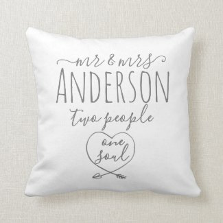 Custom Name Gift for Them Cushion