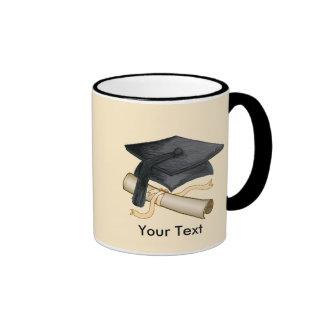 Custom Name Grad Cap Coffee Mug