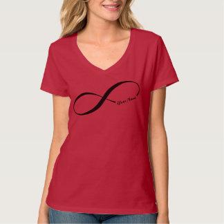 Custom Name Infinity Symbol T-Shirt