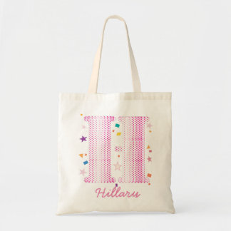 Custom Name Initials for the Coolest Baby You Know Budget Tote Bag