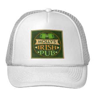 Custom Name  Irish Pub St. Patrick's Day Hat