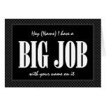 Custom Name JUNIOR GROOMSMAN Invitation  - FUNNY Greeting Cards