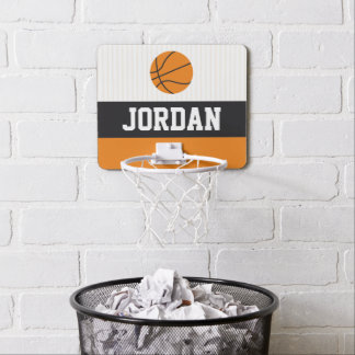 Custom name Mini Basketball Hoop