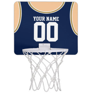Custom Name/Number Mini Basketball Hoop