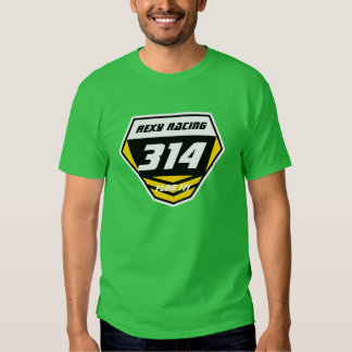 Custom Name Number Plate: Yellow -Light Number Tshirts