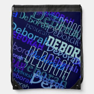 custom name pattern rucksack