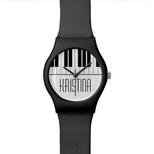 Custom Name Piano Keyboard Music Teacher Student Wrist