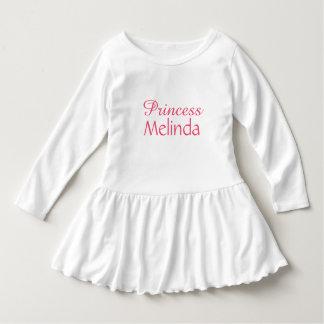 "Custom name ""Princess"" clothing Dress"