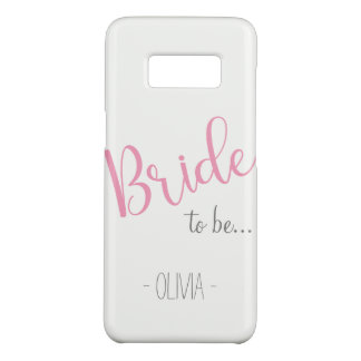 Custom Name Samsung Bride to be Case