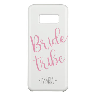 Custom Name Samsung Bride Tribe Case