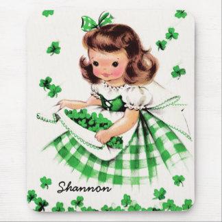 Custom Name. St. Patrick's Day Gift  Mousepads