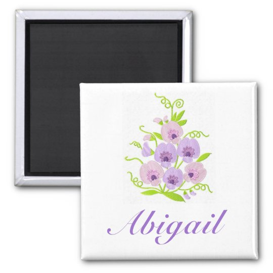 CUSTOM NAME -Sweetpea Girl's / Woman's Magnet