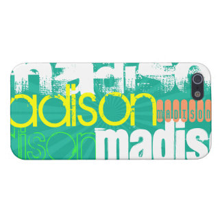 Custom Name Teal Green Cover For iPhone 5