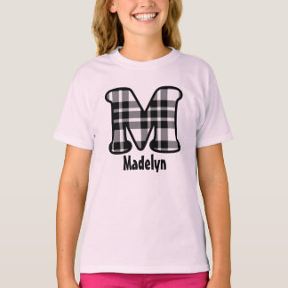 Custom Name Tee for Names Starting with Letter M