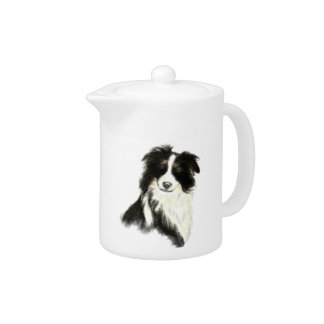 Custom Name text Border Collie Dog Pet
