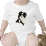 Custom Name text Border Collie Dog Pet Tshirts