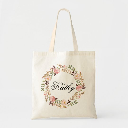 Custom Name Wedding|Personalised Braidsmaid Tote Bag