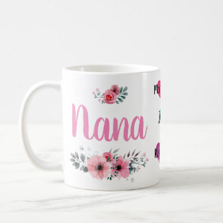 Custom Nana Mug with Grandchildrens' Names