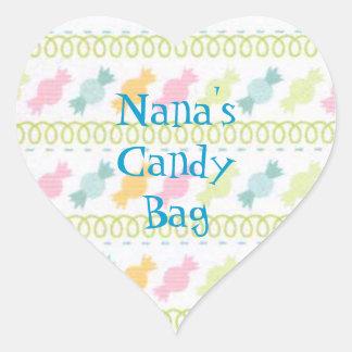 Custom Nana's Candy Treat Bag Sticker