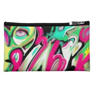 Custom Neon Art Makeup Bag