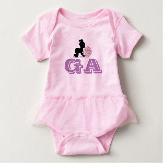 Custom Netball Player Position Themed Baby Bodysuit